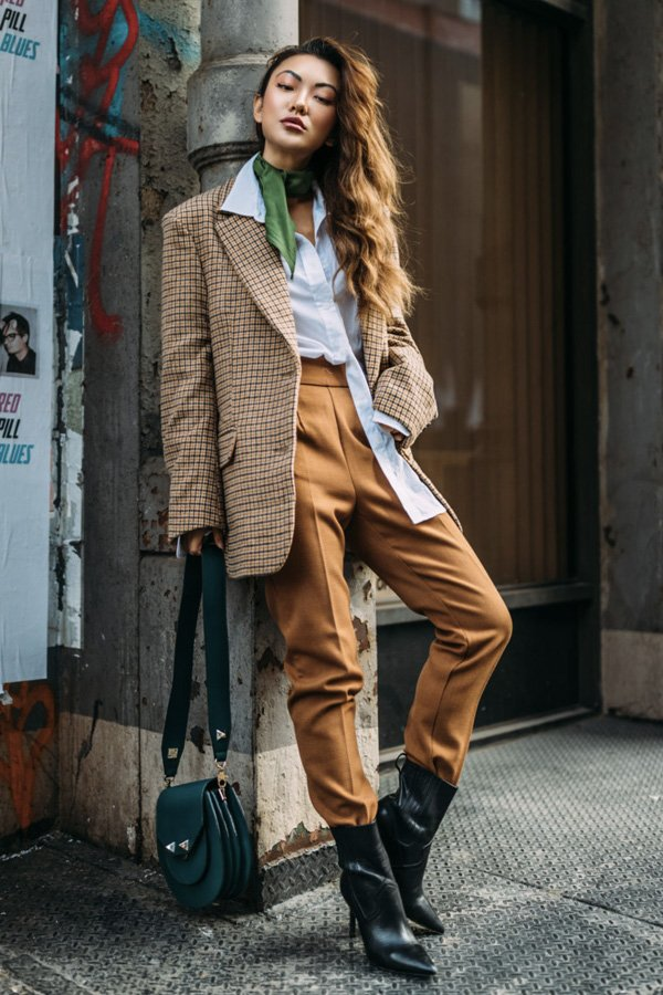 Jessica Wang - bota - tendências de inverno - verão - street style