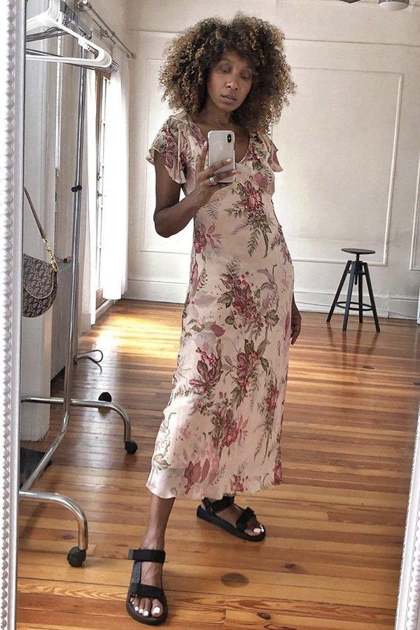 Karen Blanchard - papete - sandália trendy - verão - street style
