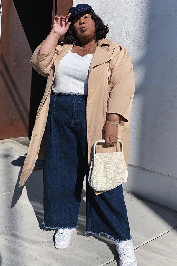Kellie Brown - casaco - trench coat - verão - street style