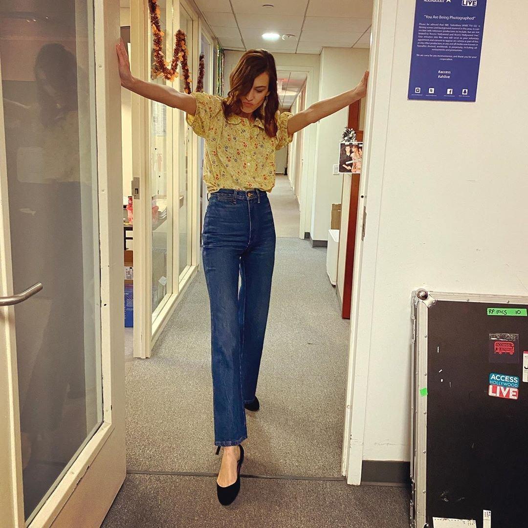 Alexa Chung - Calça jeans - Calça jeans - Verão - Street Style