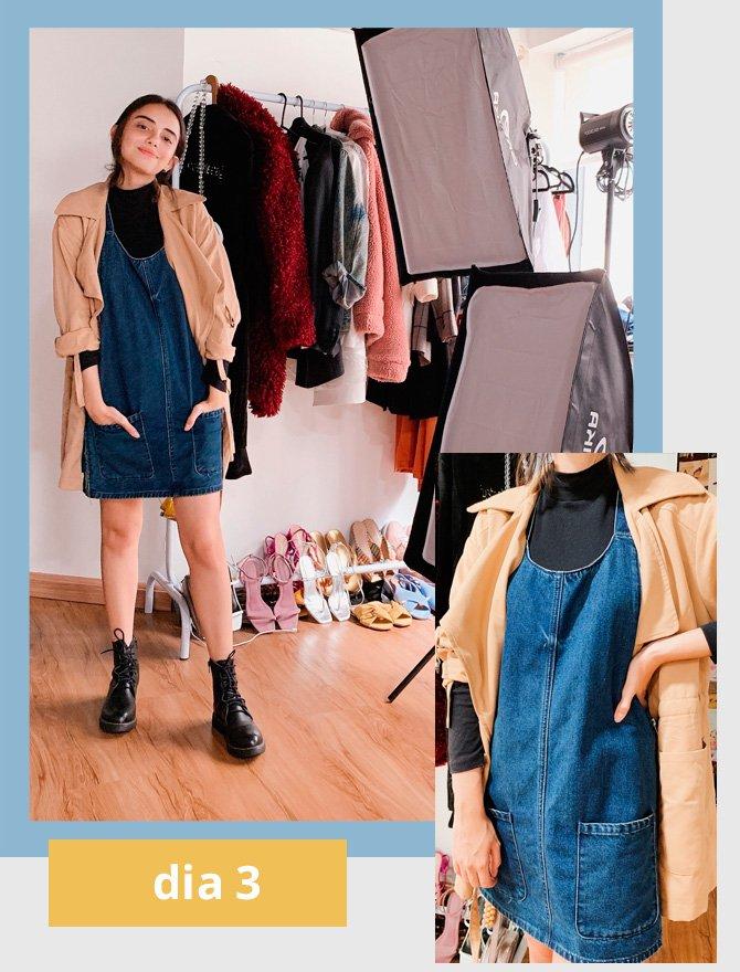 Giovana Marçon - salopete - jeans - verão - street-style