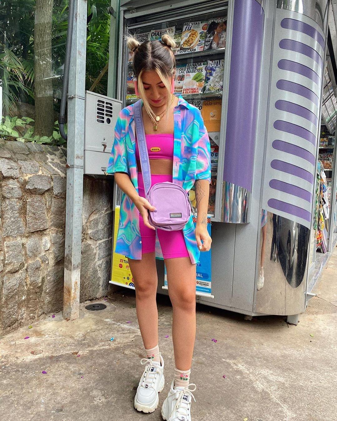 It girls - Bermuda ciclista - Carnaval - Verão - Street Style