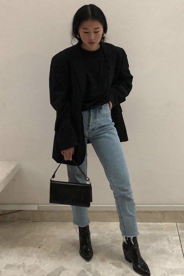 Luciane Sakon - cropped - jeans - verão - street style