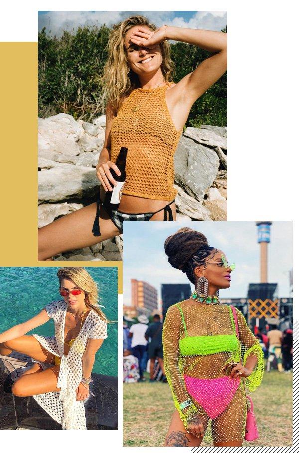 Lucy Williams, Magá Moura, Julia Faria - tricot - tendências - verão - street style