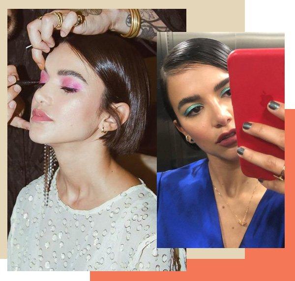 Manu Gavassi - make - make up - verão - street style