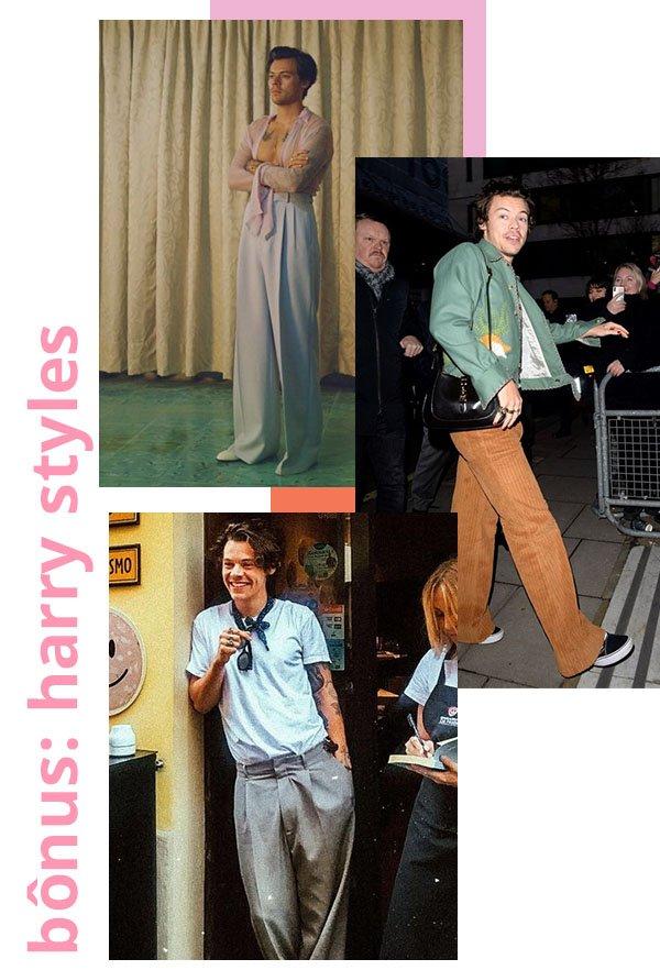 Harry Styles - Calças - Calças - Verão - Street Style