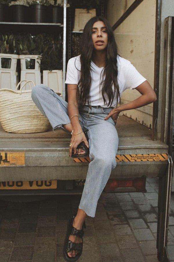 Monikh Dale - jeans verão - jeans - verão - street style