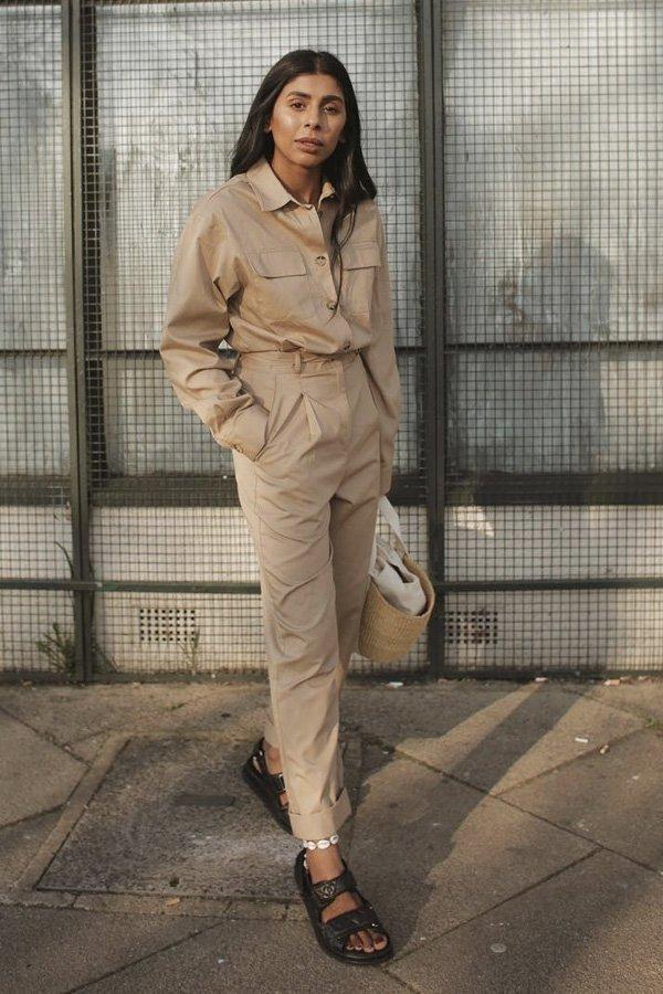 Monikh Dale - papete - sandália trendy - verão - street style