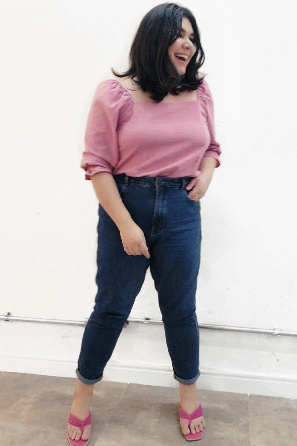 nuta vasconcellos - mom jeans - jeans - verão - street style
