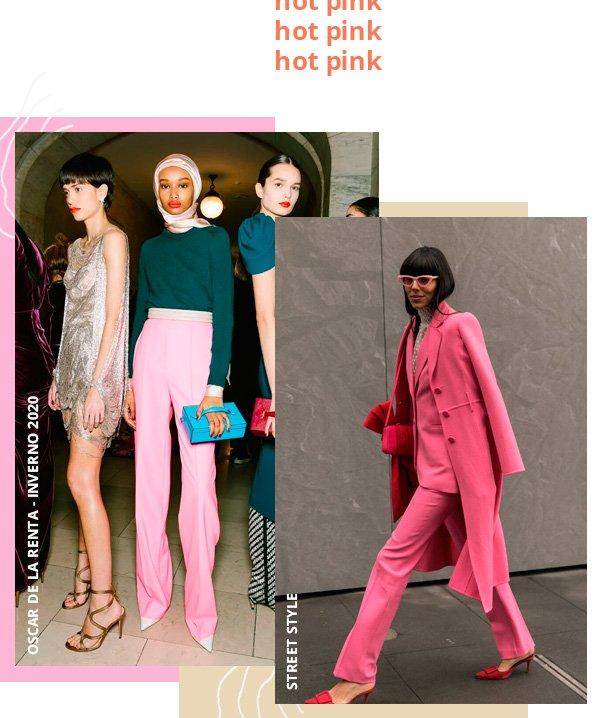 modelo - pink - pink - inverno - street-style