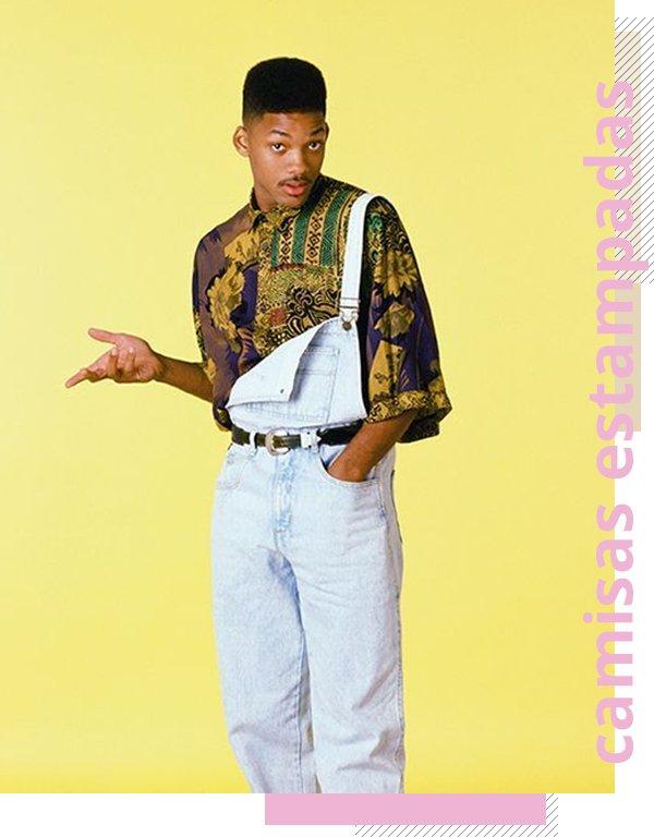 It girls - Camisa estampada - Anos 90 - Verão - Street Style