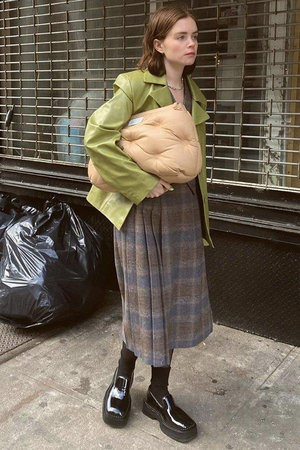 Reese Blutstein - sapato - sapato - inverno - street style