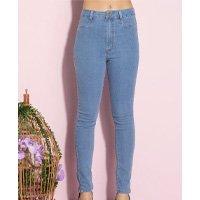 Quintess - Calça Jeans com Bolsos Funcionais nas Costas