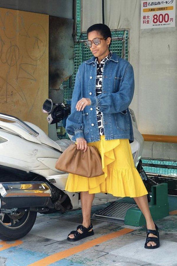Tamu Mcpherson - papete - sandália trendy - verão - street style