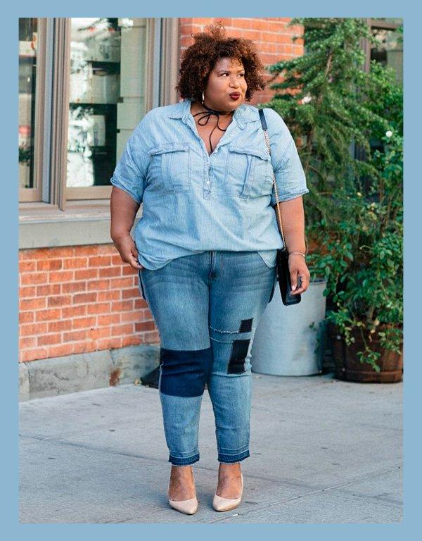 Kellie Brown - jeans - ton-sur-ton - verão - street-style