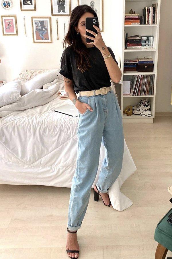 Vic Hollo - jeans com pregas - jeans - verão - street style