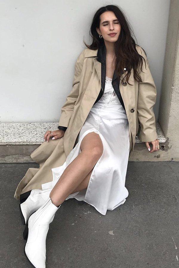 Vic Hollo - casaco - trench coat - verão - street style