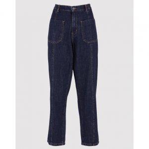 Calça Jeans Slim Elástico Cintura