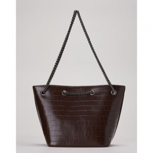 Bolsa Mini Bucket Croco