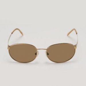 Óculos De Sol Metal Oval
