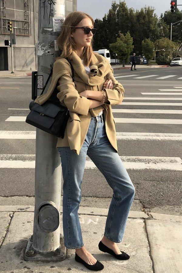 Amalie Moosgaard Nielse - sapato - looks de trabalho - verão - street style