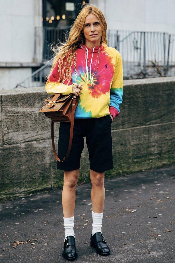 Blanca Miró - tendência - tie dye - inverno - street style