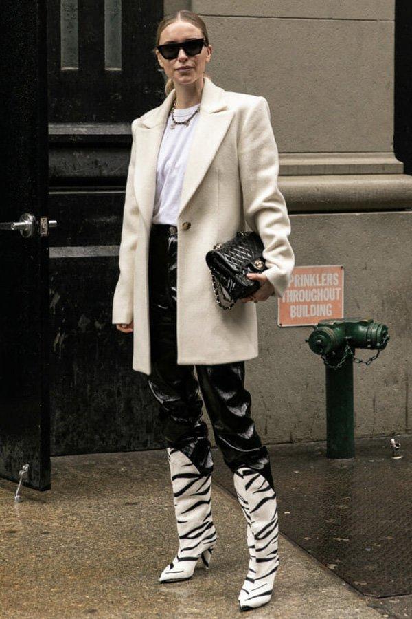 reprodução pinterest - casacos - casacos - inverno - street style