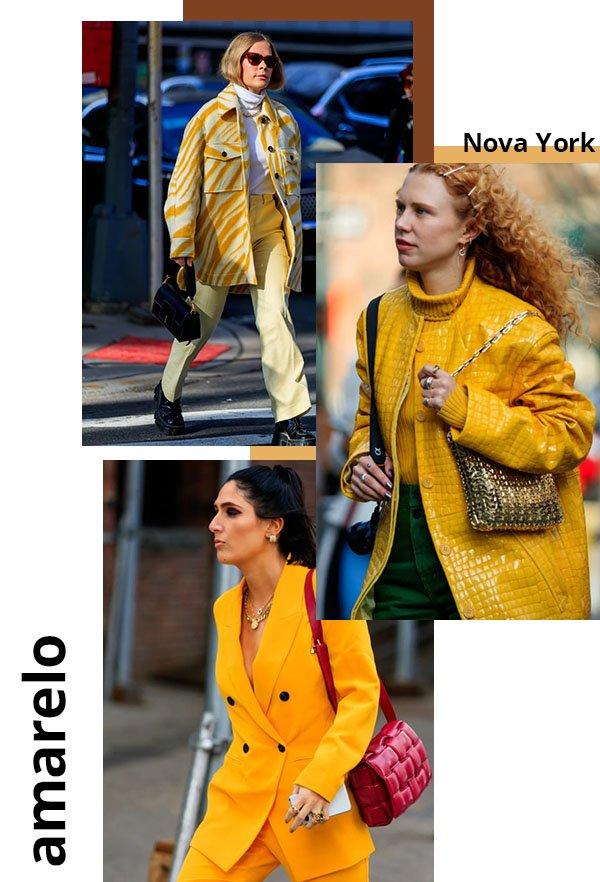 It girls - Amarelo - Cores - Verão - Street Style