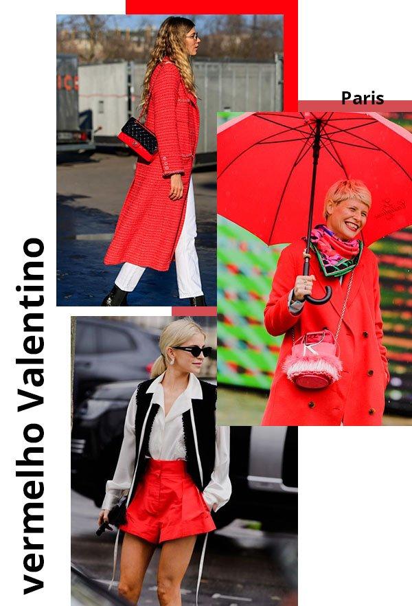 It girls - Vermelho Valentino - Cores - Verão - Street Style