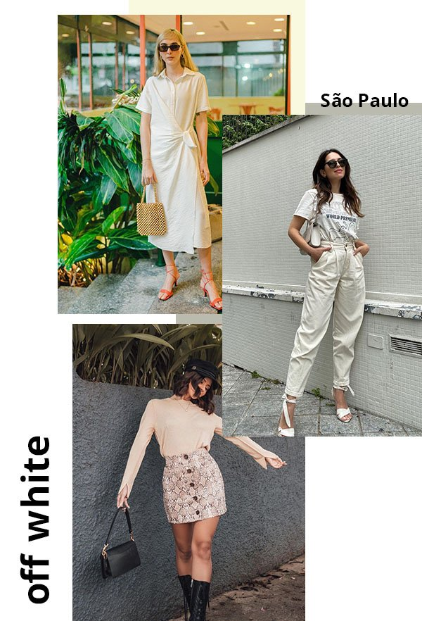 It girls - Off white  - Cores - Verão - Street Style