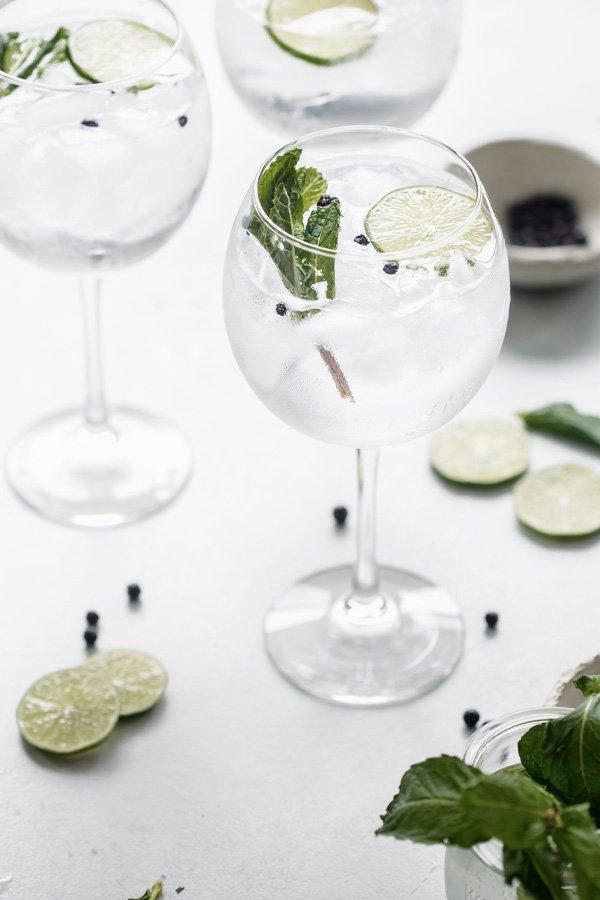 reprodução pinterest - gin tônica - receitas de drinks - inverno - street style