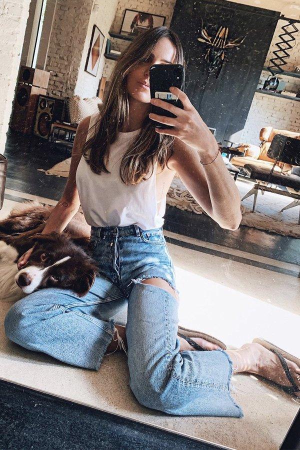 Helena Barbero - sapatos comfy - flip flop - inverno - street style