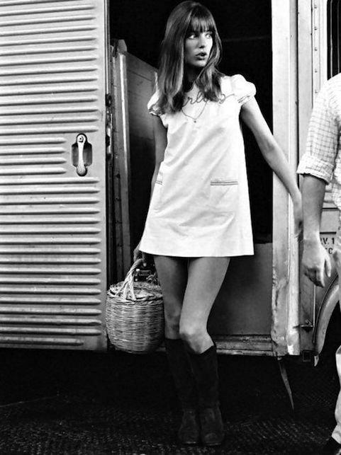 Jane Birkin - Looks - TBT - Verão - Street Style