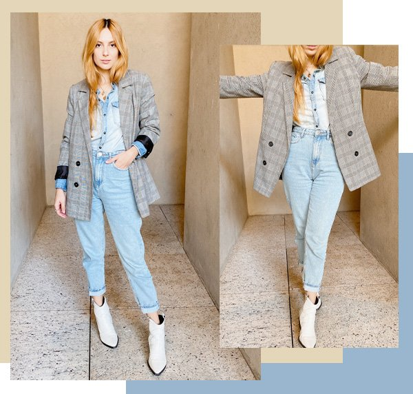 Ali Santos - jeans - truques de styling - verão - street style