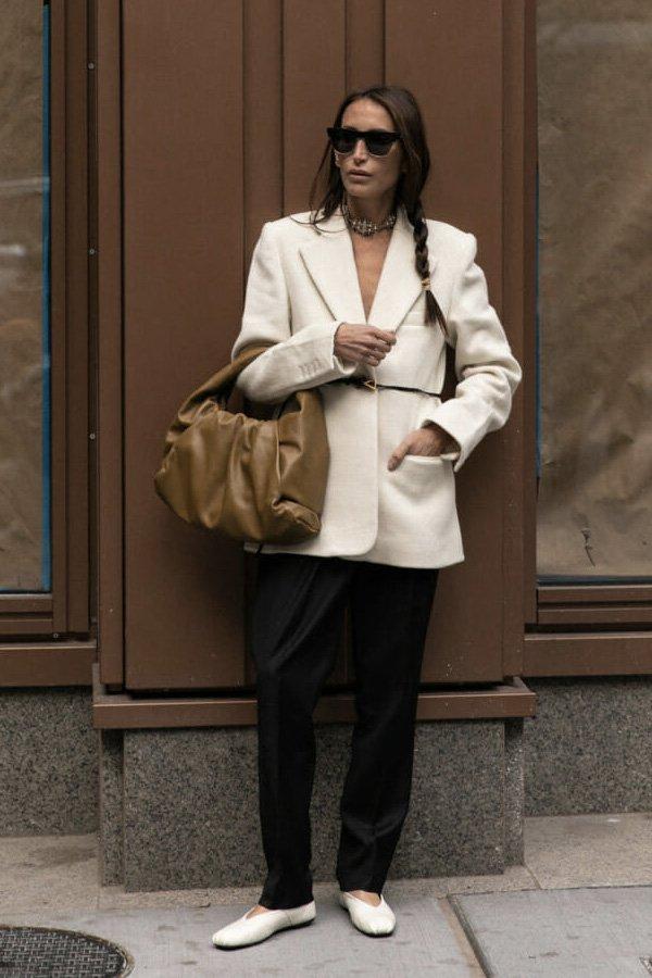 reprodução pinterest - sapato - looks de trabalho - verão - street style