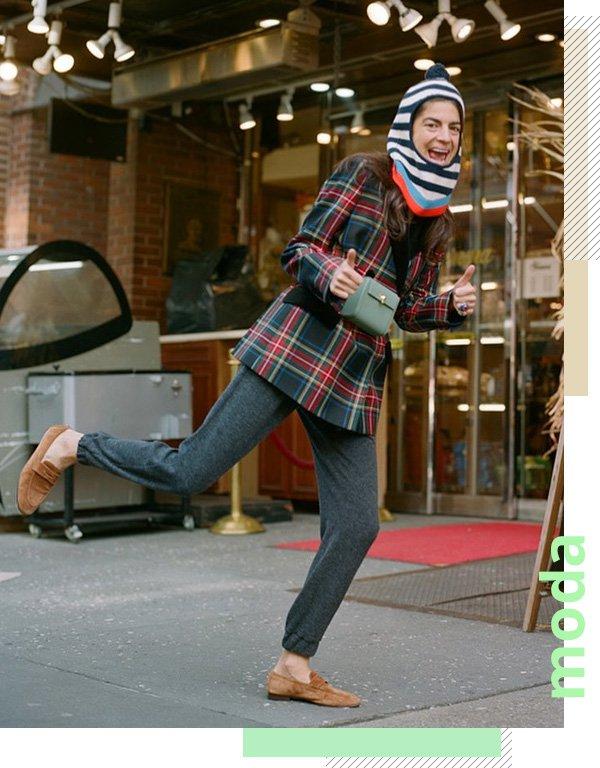 Leandra Medine/Man Repeller - feeds que inspiram - moda - inverno - street style