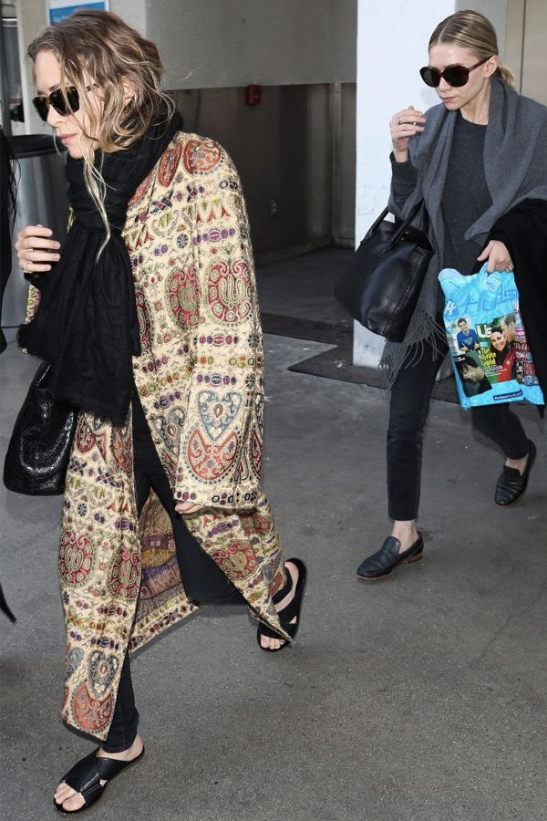Mary-Kate Olsen - olsen - gêmeas Olsen - inverno - street style