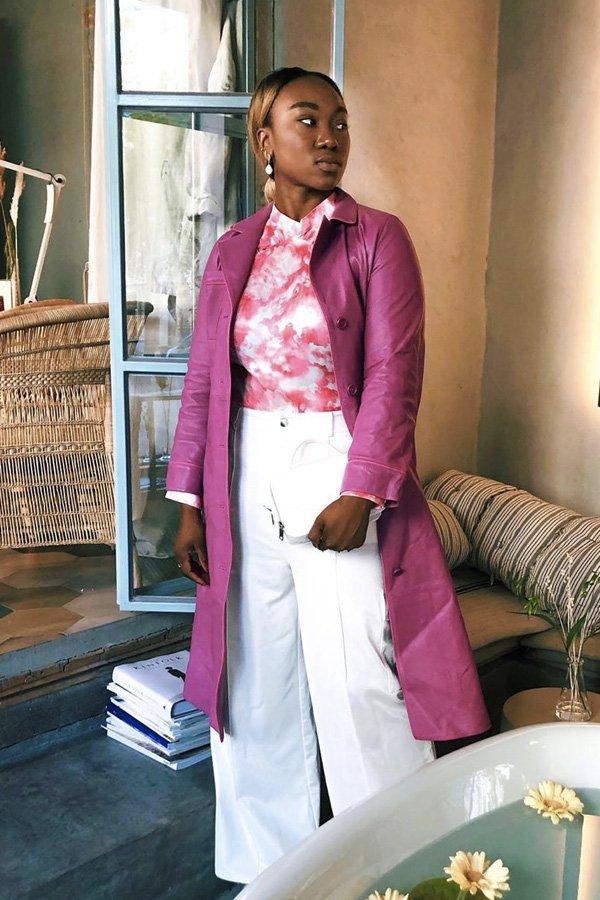 Nnenna Echem - tendência de verão - tie dye - inverno - street style