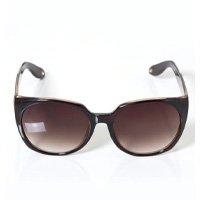 Quintess - Óculos de Sol Quadrado Tartaruga Marrom