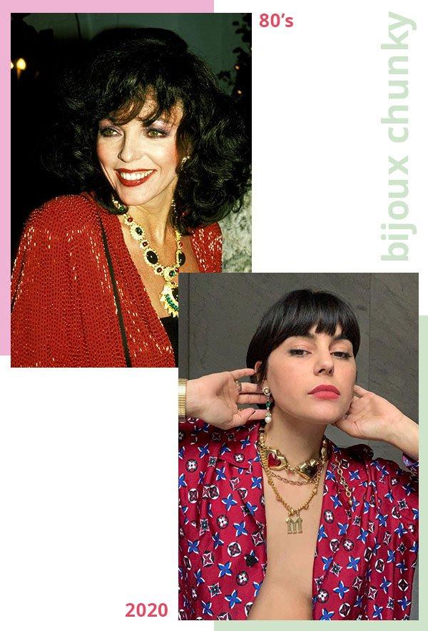 It girls - Bijoux Chunky - Anos 80  - Verão - Street Style