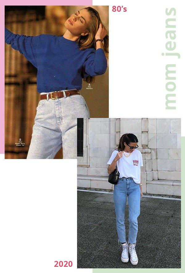 It girls - Mom jeans - Anos 80 - Verão - Street Style