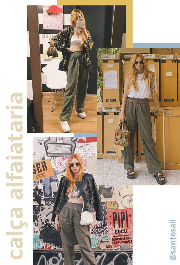 It girls - Calça alfaiataria - Calça alfaiataria - Verão - Street Style