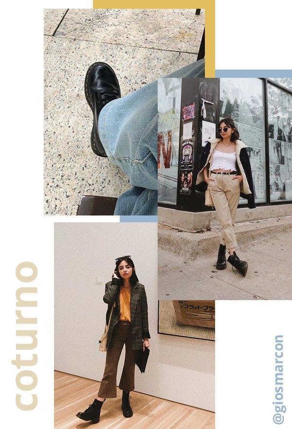 It girls - Coturno - Coturno - Verão - Street Style