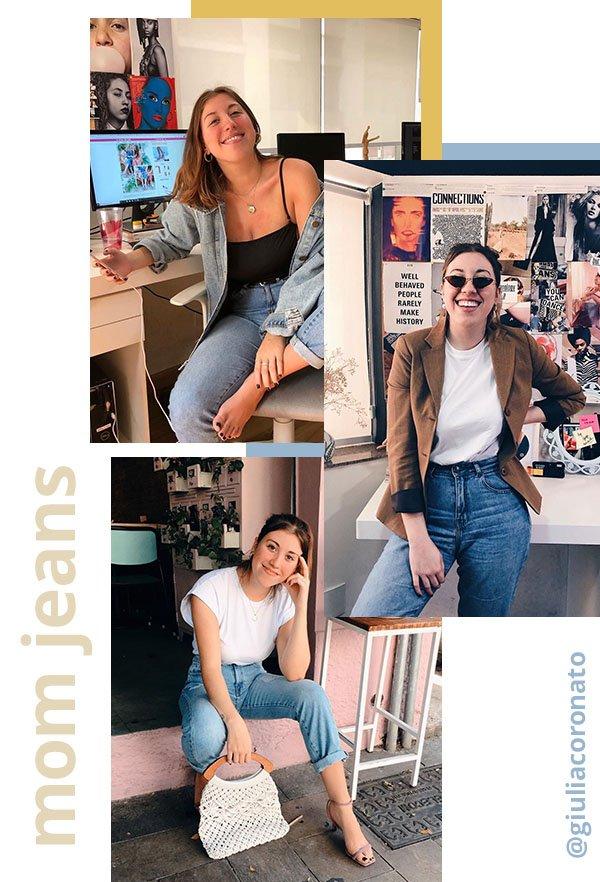 It girls - Mom jeans - Mom jeans - Verão - Street Style