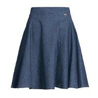 Quintess - Saia Jeans Godê Cintura Alta