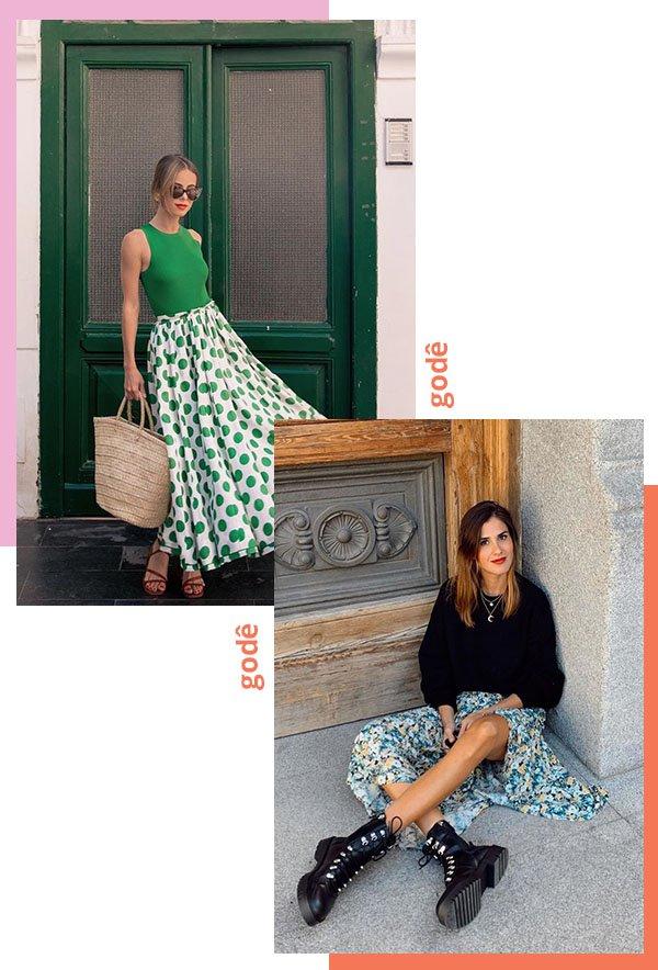 It girls - Saia - Godê - Verão - Street Style