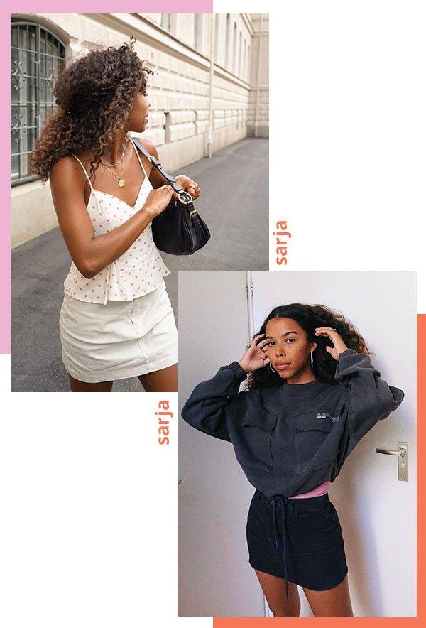 It girls - Fim de semana - Sarja - Verão - Street Style