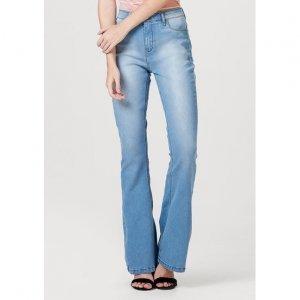 Calça Jeans Feminina Sculpted Flare Push Up