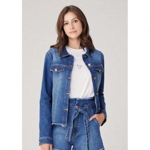 Jaqueta Feminina Em Jeans Tal Mãe Tal Filha