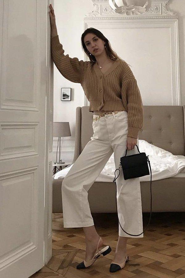 Ana Matisse - cardigan cropped - cardigan - inverno - em casa - https://stealthelook.com.br